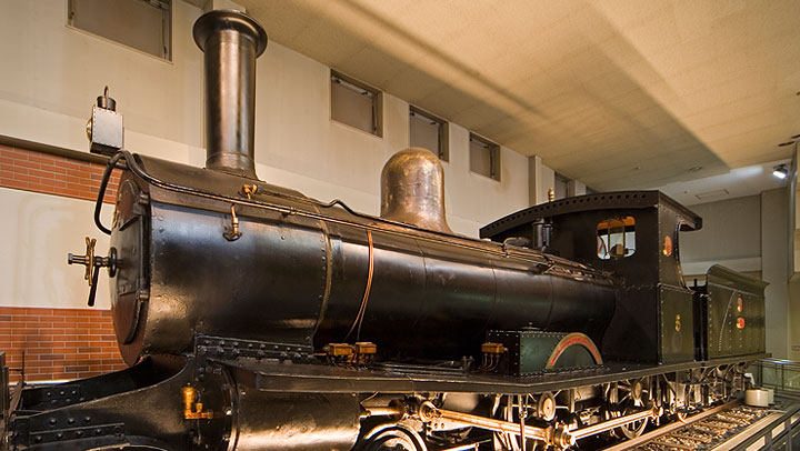 The No. 5 Steam Locomotive
